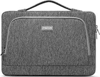 MOSISO Laptop Sleeve Compatible with MacBook Pro/Air 13 inch, 13-13.3 inch Notebook Computer, Protective Polyester Side Op...