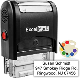 custom self inking rubber stamps
