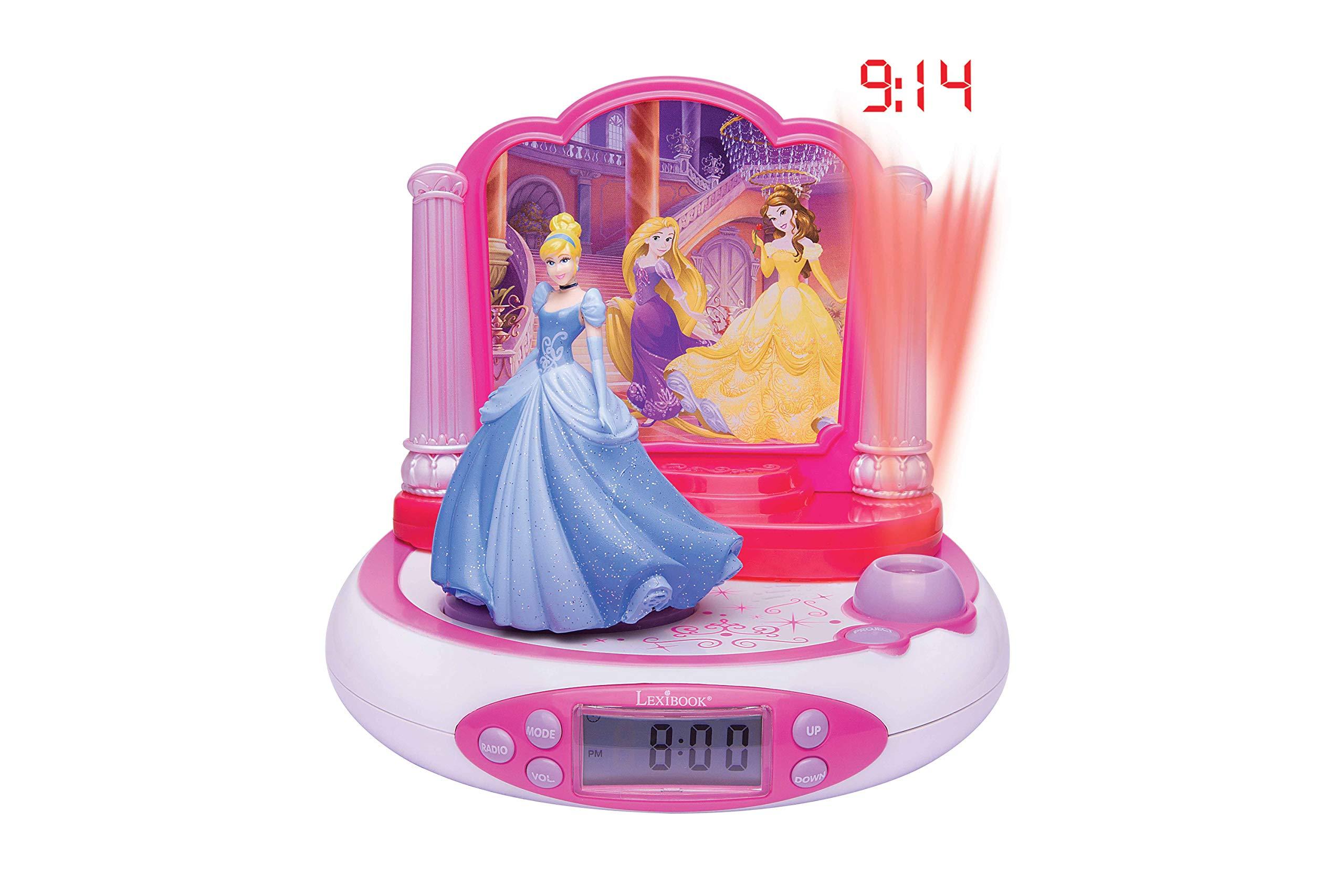 Disney RP510DP Radio Despertador con Proyección de la Hora, Rosa ...