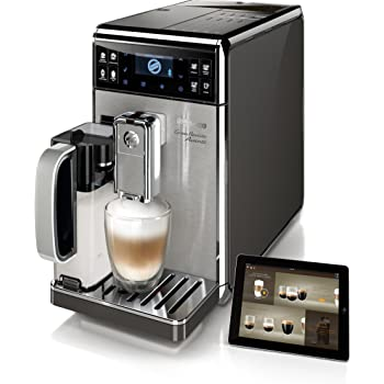 Saeco GranBaristo Avanti - Cafetera espresso automática, con recipiente para leche, color negro y plata: Amazon.es: Hogar