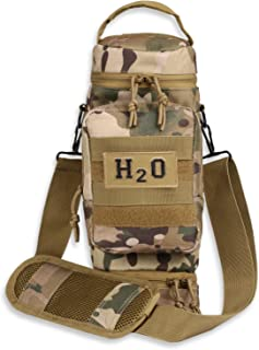 Orca Tactical Military MOLLE Water Bottle Pouch H2O Hydration Carrier Holder