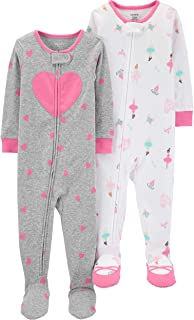 Carter's Baby Girls 2-Pack Cotton Pajamas