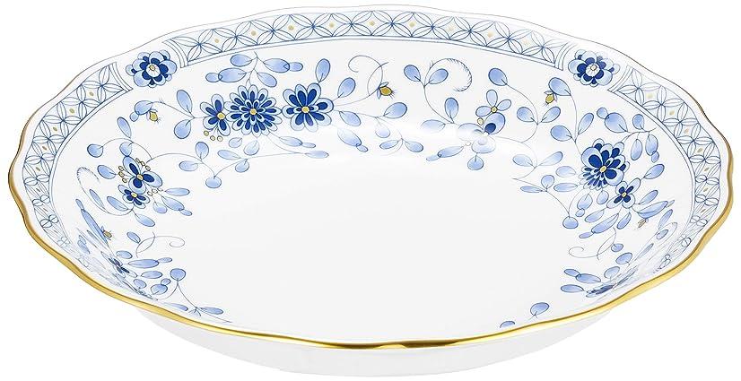 同時水っぽい好ましいNARUMI(ナルミ) プレート ミラノ ブルー 19cm クープスープ 日本製 9682-1414