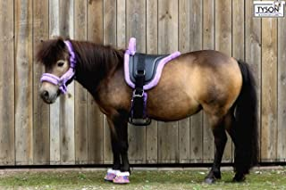HKM WENDY Voltigier-// Longiergurt mit Griffen /& Schabracke für Shetty Pony