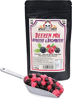 Beeren Mix - Himbeere & Brombeere - nicht scharf - zuckerfrei - Hotskala: 0 - RED DEVILS TASTE