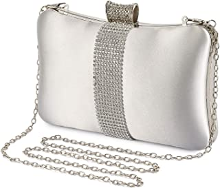 Amazon.es: Plateado - Carteras de mano y clutches / Bolsos ...