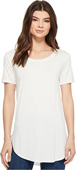 American Rose - Ember Short Sleeve Round Neck Top
