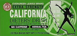 California Dieter Drink Extra Strength Tea   1.76 ounces   3 Pack
