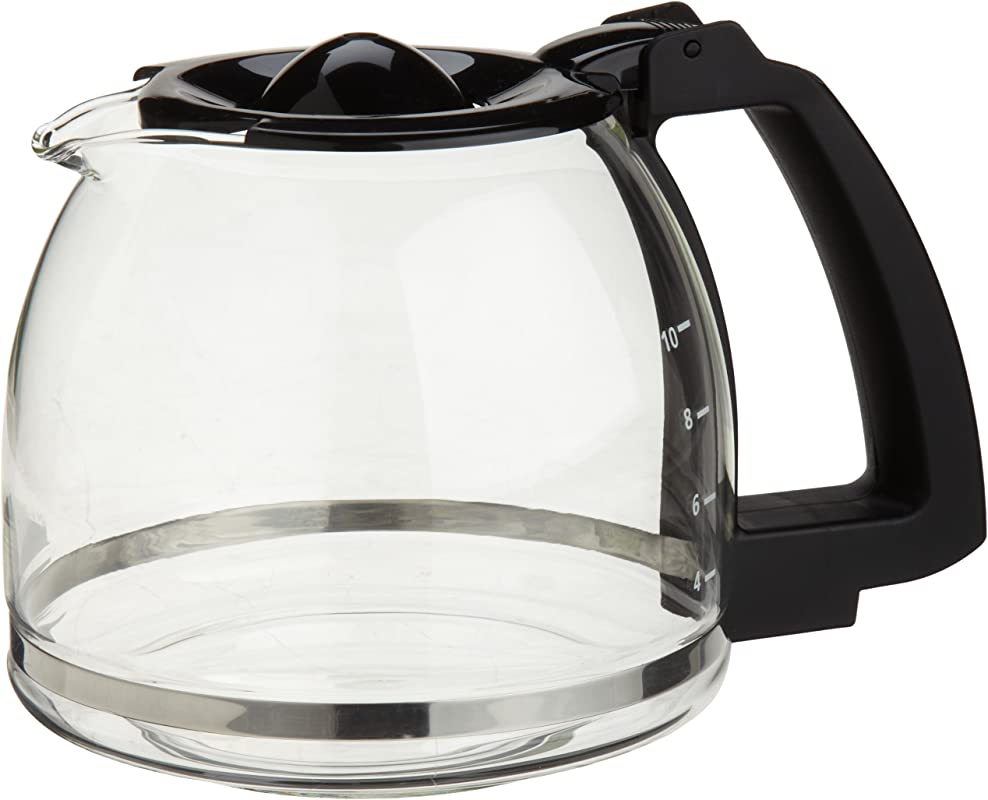 Capresso 4464 01 10 Cup Glass Carafe With Lid For CoffeeTeam GS Coffee Maker