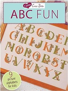 I Love Cross Stitch ABC Fun: 9 Picture Alphabets for Kids
