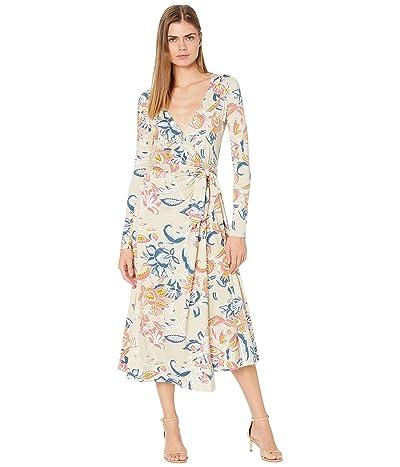 Rachel Pally Jersey Mid-Length Harlow Dress (Folk Flower) Women