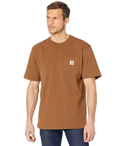 Carhartt Workwear Pocket S/S Tee K87 (Oiled Walnut Heather) Men