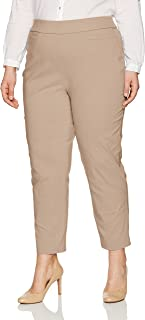 Alfred Dunner Women's Petite Proportioned Medium Allure Slim Pant