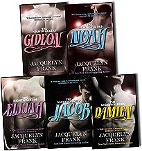 Jacquelyn Frank Nightwalkers Series 5 Books Collection Pack Set RRP: £40.95 (Gideon, Noah, Jacob, Elijah, Damien)