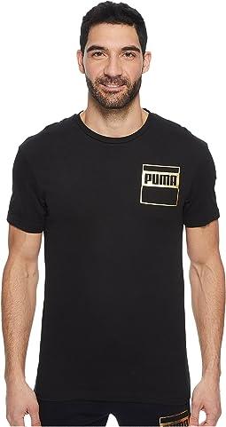 PUMA - Rebel Gold Tee