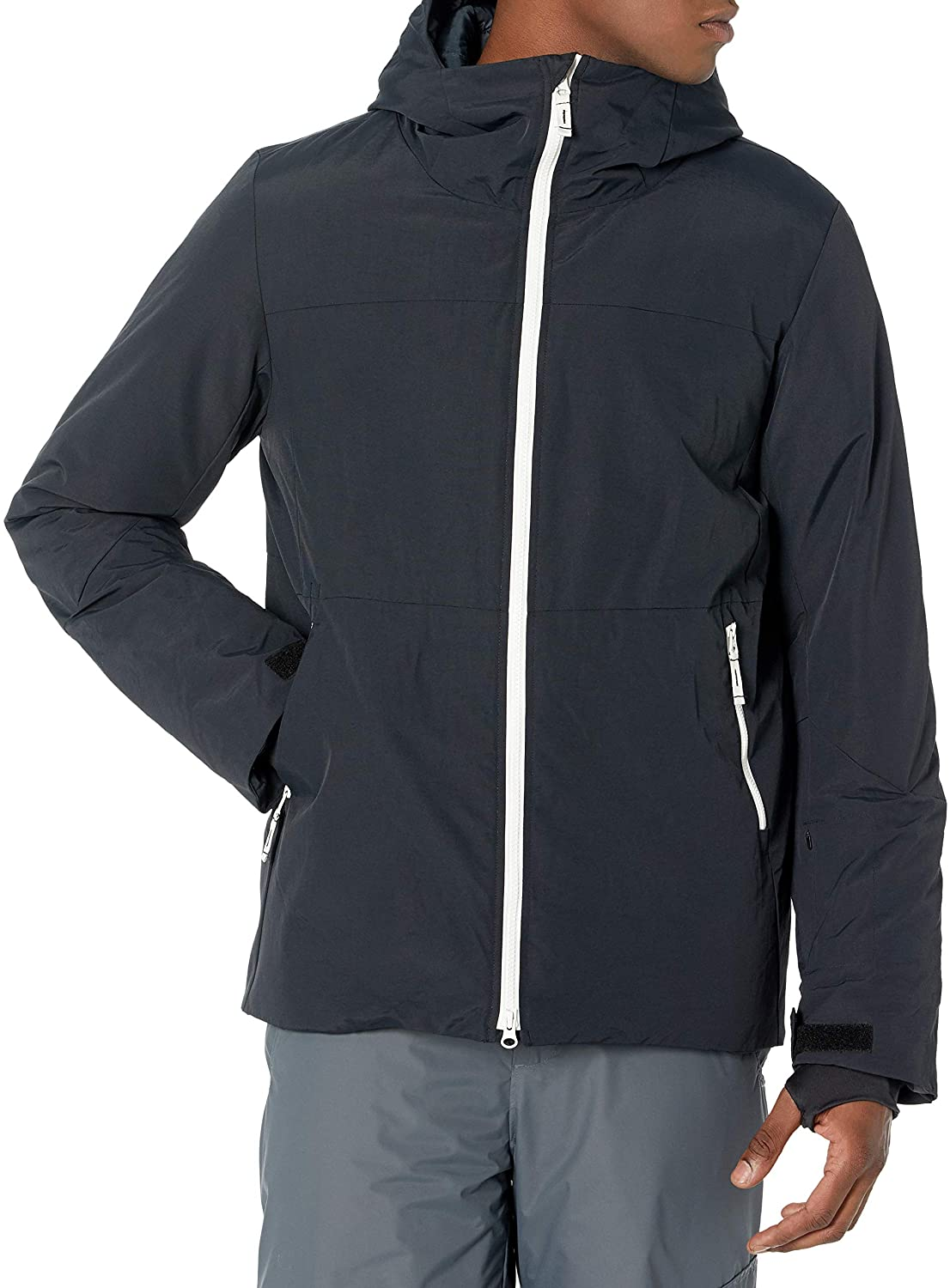 Amazon Essentials Men's Long-Sleeve Insulated Water-Resistant Hooded Snow Jacket