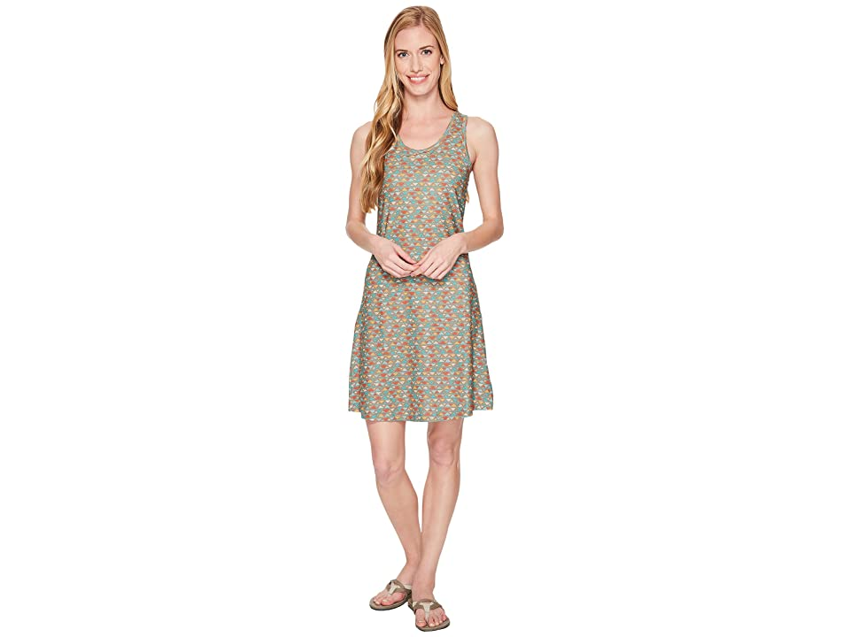 Columbia Saturday Trailtm II Knit Dress (Truffle Mountain Triangles Print) Women