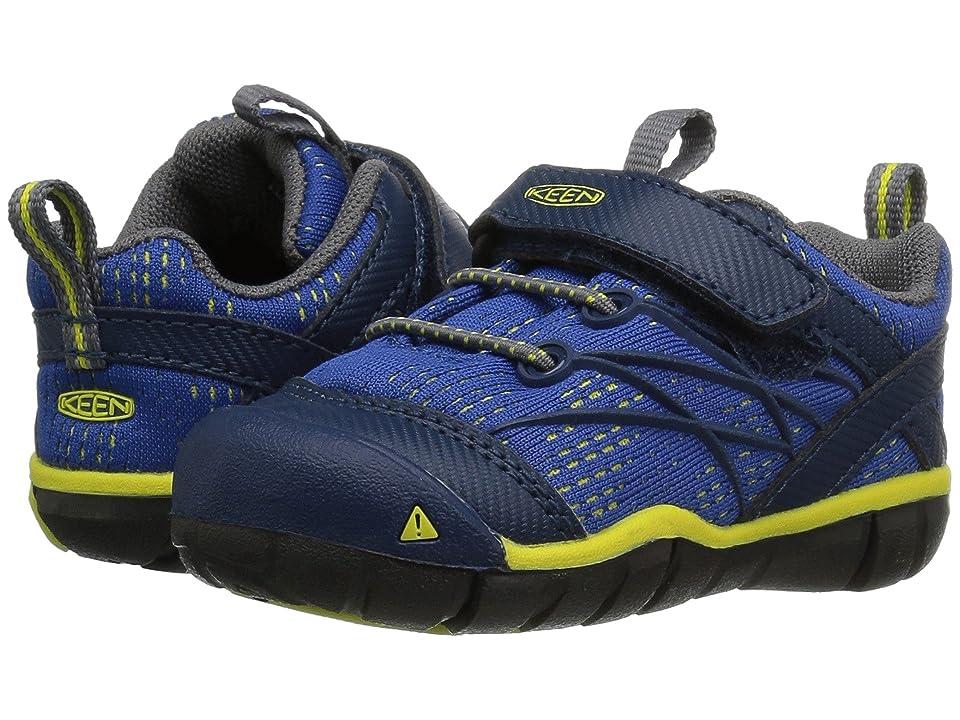 Keen Kids Chandler CNX (Toddler) (Blue Opal/Baleine) Boys Shoes
