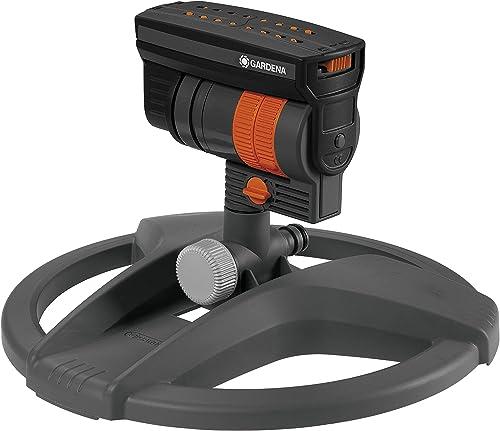 GARDENA ZoomMaxx 8127-20 - Aspersor cuadrado de aspersor oscilante para las más diversas exigencias y superficies de ...