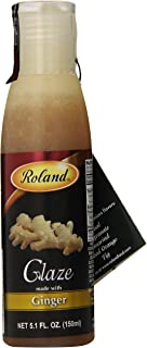 Roland Foods Balsamic Glaze, Ginger, 5.07 Ounce