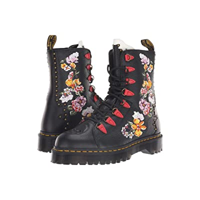 Dr. Martens Nyberg Core Bex (Black Aunt Sally/White Smooth/Burnt Red Smooth/Black Smooth) Women