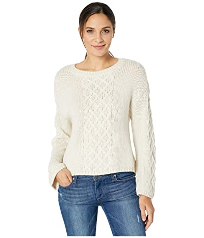 BB Dakota Retro Active Sweater (Ivory) Women