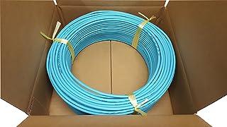 日本製線 高性能ギガビット伝送対応LANケーブル (Cat5e) 100m巻(うす水色) 0.5-4P NSEDT (LB) (100)