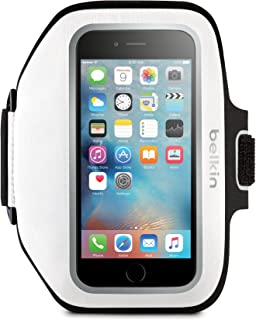 Belkin Sport-Fit Plus Armband for iPhone 6 Plus / 6S Plus, Fitbit Alta, Fitbit Blaze and Fitbit Charge HR (White)