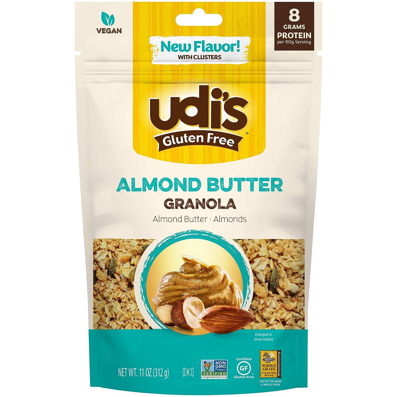 Max 43% OFF Udi's Gluten Free Almond Many popular brands Granola oz. Butter 11