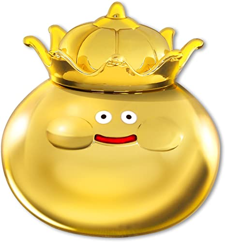Dragon Quest Metalic Monsters Gallery (55 mm Figure) -Dragon Quest 25th Anniversary ver. Golden Slime King- [JAPAN] (japan import)