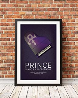 Prince Concert Poster: 2016 Piano and Microphone Tour (Print Only)