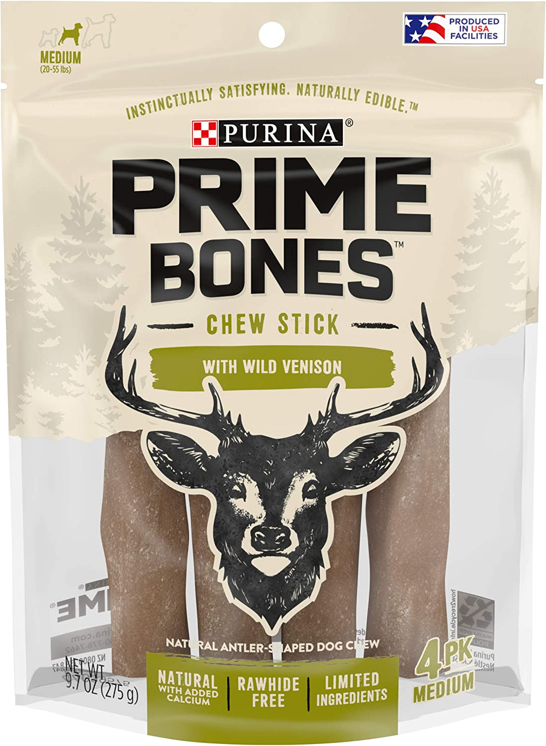 Purina Louisville-Jefferson Direct sale of manufacturer County Mall Prime Bones Natural Dog Treats USA Limited in Ingred Made