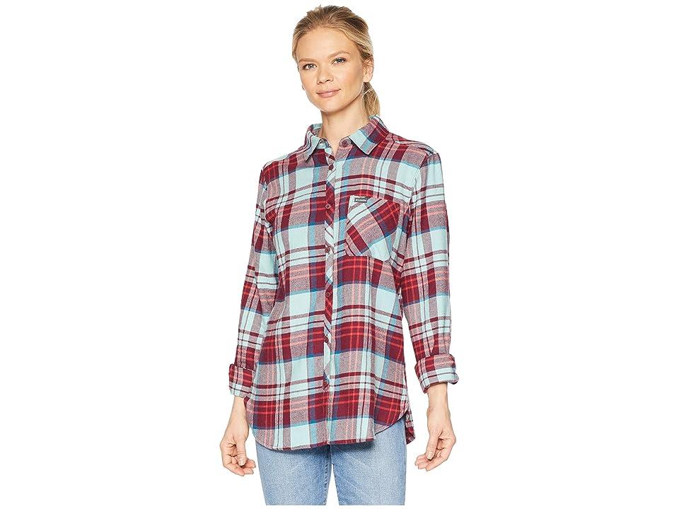 Columbia Simply Puttm II Flannel Shirt (Rich Wine Plaid) Women