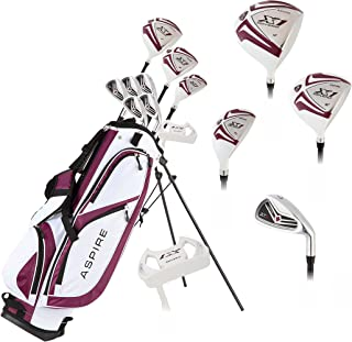 powerbilt left handed golf clubs