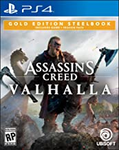 Assassin's Creed Valhalla Gold Steelbook Edition - PlayStation 4