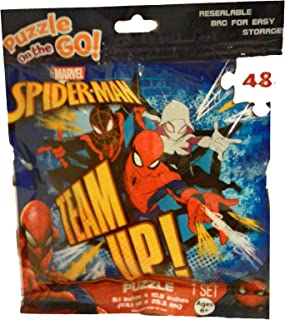 Marvel Spiderman Team Up! Puzzle On The Go 48 Pieces