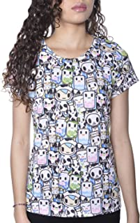 Tokidoki Milkshake Women's Multicolor Tee BlueT-Shirt