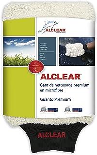 ALCLEAR 950013WH Mikrofaser Waschhandschuh für die Autowäsche mit Shampoo: Besser als EIN Autowaschschwamm, Poliertuch oder Mikrofasertuch für Auto, Motorrad