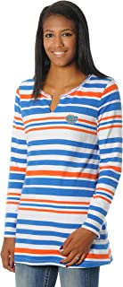 NCAA Women's Striped Tunic Fleece Top