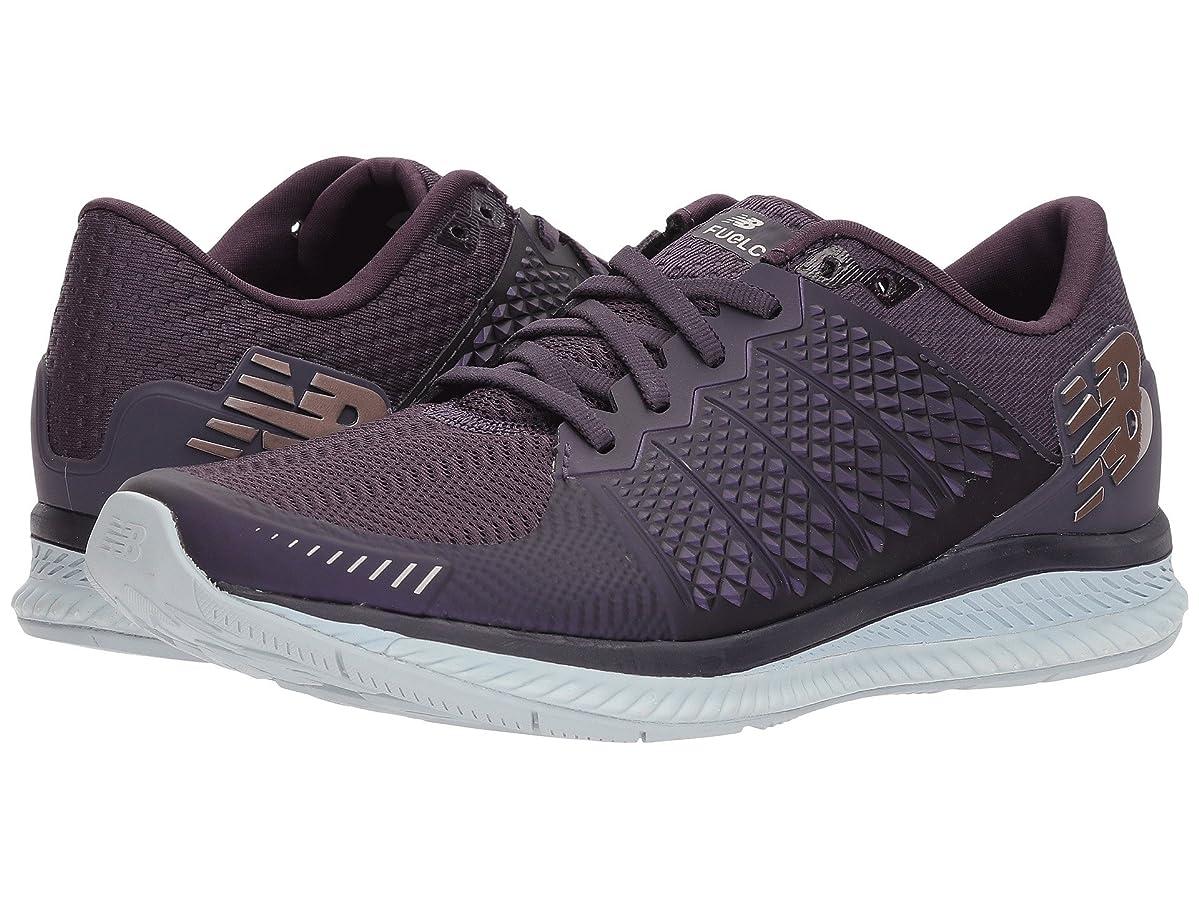 微妙悪党ダンプ(ニューバランス) New Balance レディースランニングシューズ?スニーカー?靴 Fuelcell v1 Elderberry/Silver Mink 5.5 (22.5cm) B - Medium