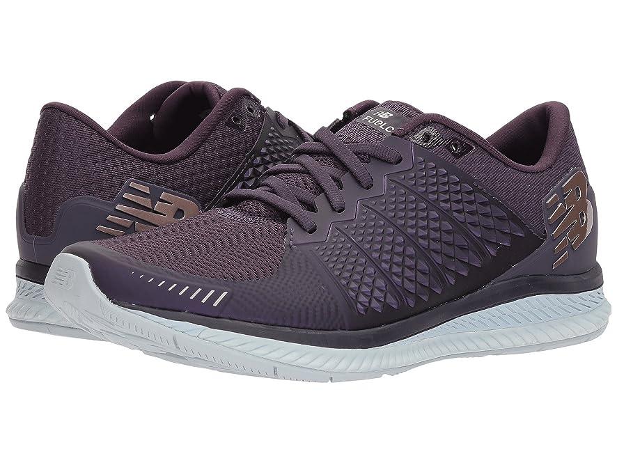 パイル肥沃な第三(ニューバランス) New Balance レディースランニングシューズ?スニーカー?靴 Fuelcell v1 Elderberry/Silver Mink 6.5 (23.5cm) D - Wide