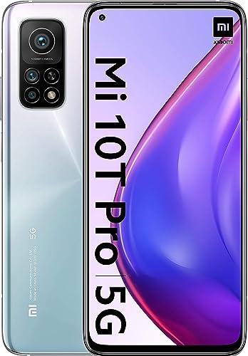 "Xiamoi mi 10t pro - smartphone 8+256gb, display 6,67"" full hd+, snapdragon 865  108mp ai triplo-camera MZB0800EU"