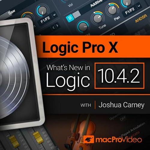 Logic Pro X 10.4.2 : What's New In Logic