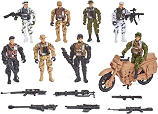 True Heroes Military Action Figures 8pk #1