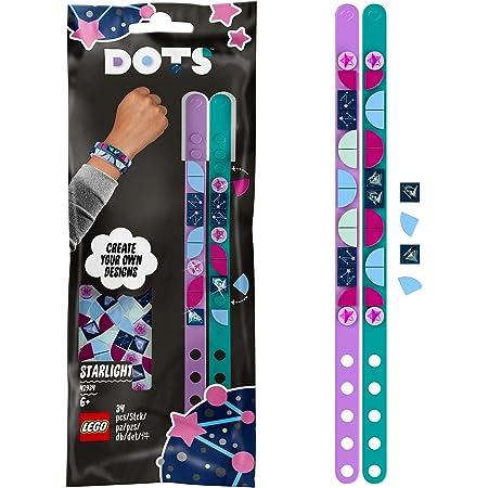 LEGO 41934 Dots LesBraceletsLumièreétoilée Set de Bijoux, Bracelet à bricoler, Artisanat et travaux manuels pour Les Enfants