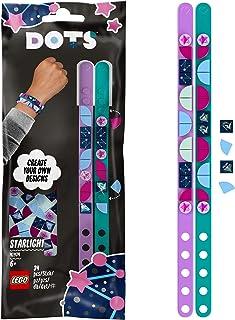 LEGO Dots 41934 Les Bracelets Lumière étoilée Bracelet Enfants à Faire soi même, Loisir créatif DIY, Bijoux pour Enfant