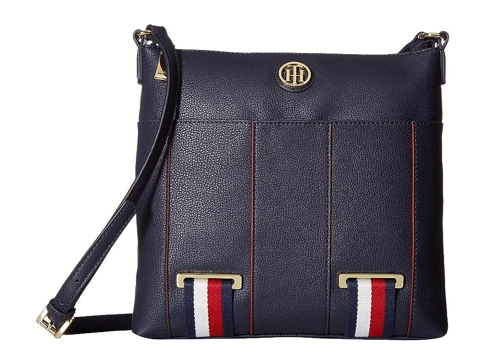 Tommy Hilfiger Astor North/South Crossbody (Tommy Navy) Cross Body Handbags