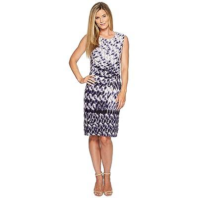 NIC+ZOE Lotus Twist Dress (Multi) Women