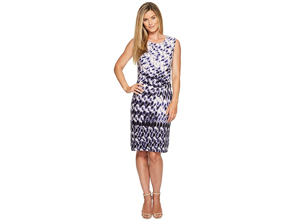 NIC+ZOE Lotus Twist Dress (Multi) Women