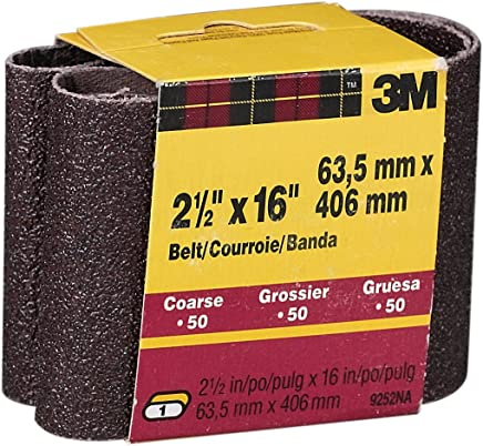 77407 PRICE is per BELT 3M Cubitron 777F Coated Ceramic Sanding Belt 1 in Width x 30 in Length 80 Grit